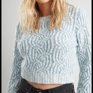 NWT Garage Leah Cropped Sweater